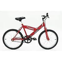 Monk Bicicleta ECONÓMICA para NIÑOS STARBIKE DE MONTAÑA RODADA 20 1 Velocidad (Roja)