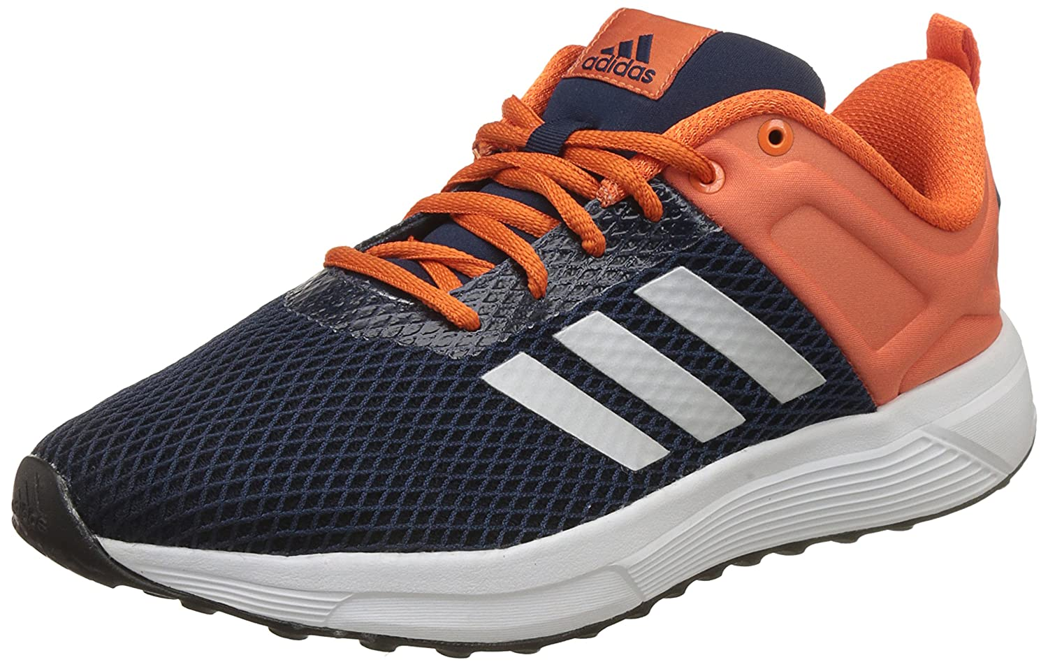 the latest 69ead d51cb Adidas Mens Helkin 2.1 M ConavySilvmtEneora Running Shoes - 12 UKIndia  (47.33 EU) Buy Online at Low Prices in India - Amazon.in