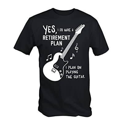 6TN Mens My Guitar IS my Retirement Plan T Shirt