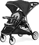 Chicco Chicco BravoFor2 LE Standing/Sitting Double Stroller - Crux, Black
