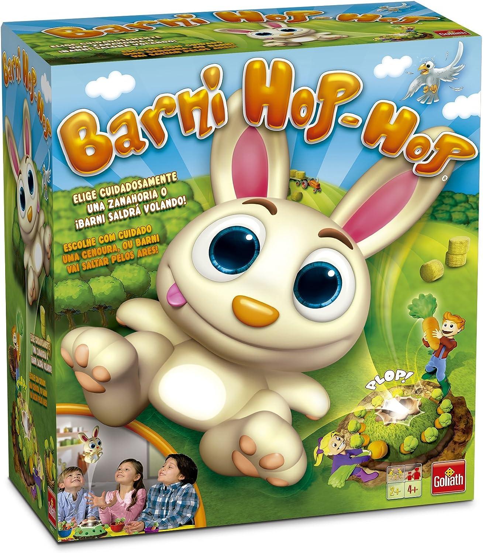 Goliath Barni Hop-Hop, Juego de Mesa para los más Pequeños (30513): Amazon.es: Juguetes y juegos