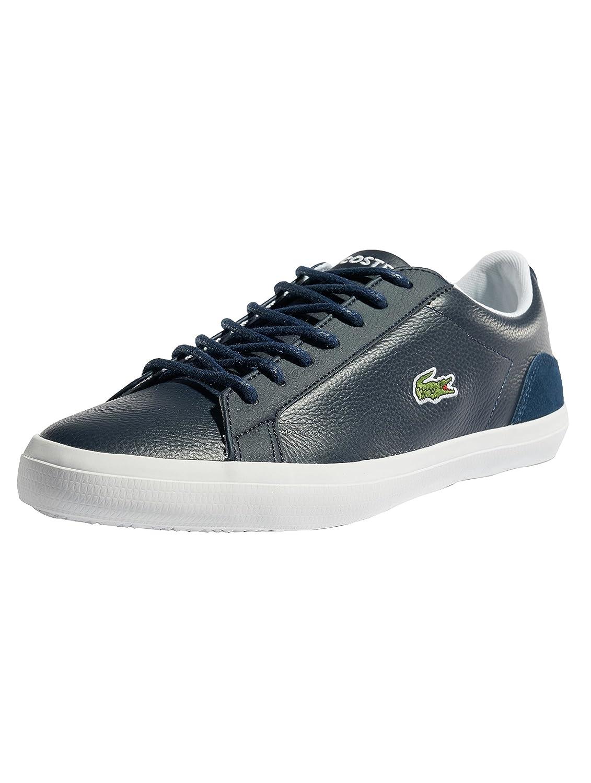 Lacoste Lerond 318 3 CAM, Zapatillas para Hombre 42.5 EU|Azul