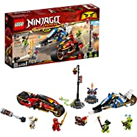 Lego Toy Ninjago Kai's Blade Cycle & Zane's Snowmobile , For age 8 Years and above - 70667