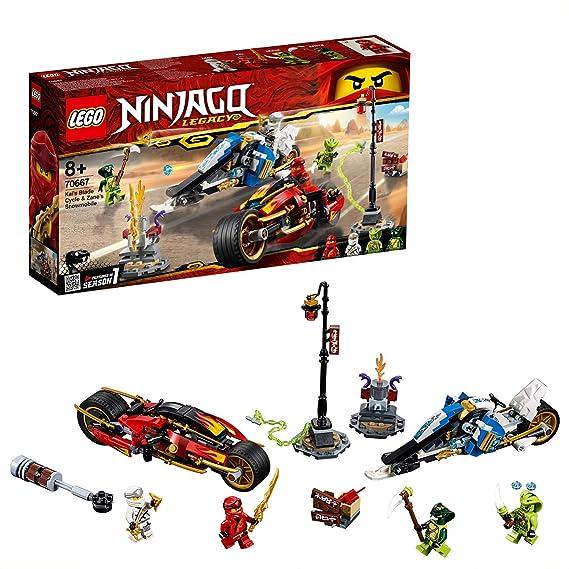 Amazon.com: LEGO Ninjago - Moto Acuchilladora de Kai y ...