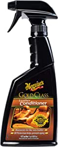 Meguiar's Gold Class Car Leather Conditioner 473 ml, G18616, H10.875 X W4.25 X D2 inches
