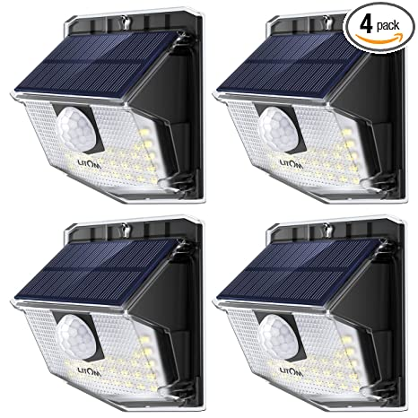 Awesome Litom Lite 30 Led Solar Lights Outdoor Wireless Easy To Install Wiring Database Wedabyuccorg