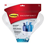 Command Corner Caddy with Water-Resistant Strips (BATH12-ES)