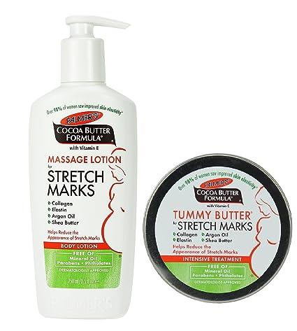 Amazon.com  Palmer s Cocoa Butter Tummy Butter   Stretch Mark ... 54016d18f81