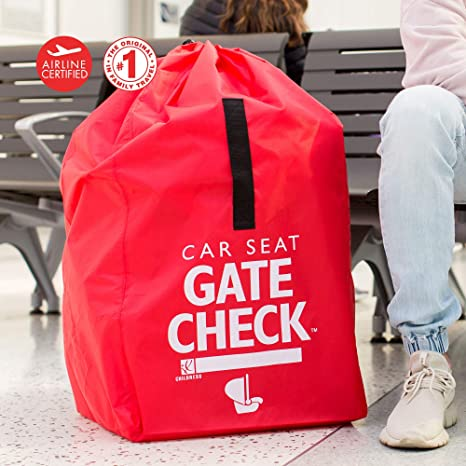 J L Childress Gate Check Air Travel Bag For Car Seats Red Amazonca Baby