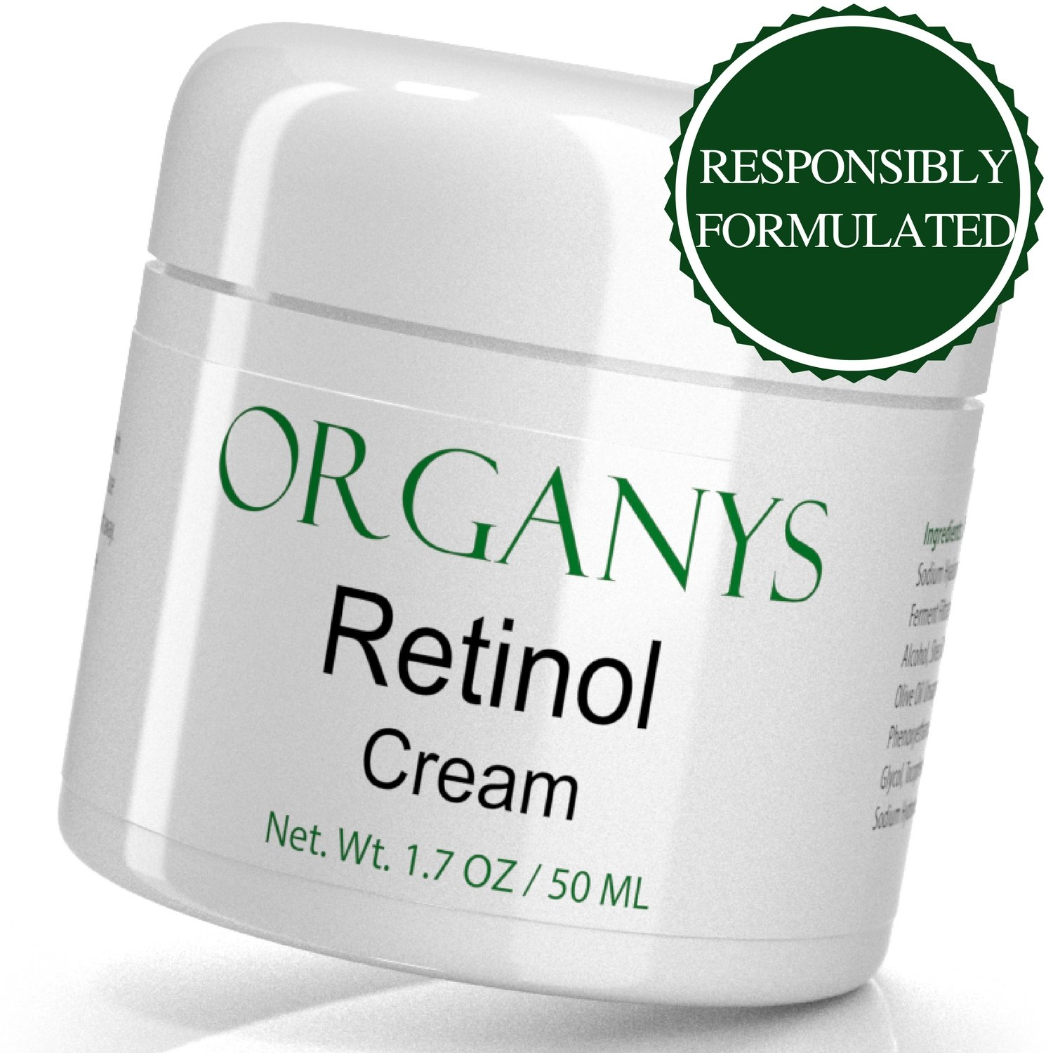 Dr Oz Face Cream >> Details About Organys Anti Aging Moisturizer Retinol Face Cream Reduce Wrinkles 1 7 Oz