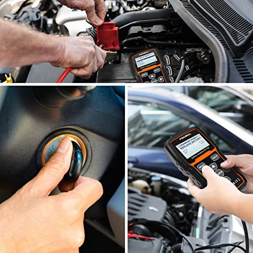 Foxwell BT705 is the best car battery tester built for average car owners looking to establish the health status of their car batteries.