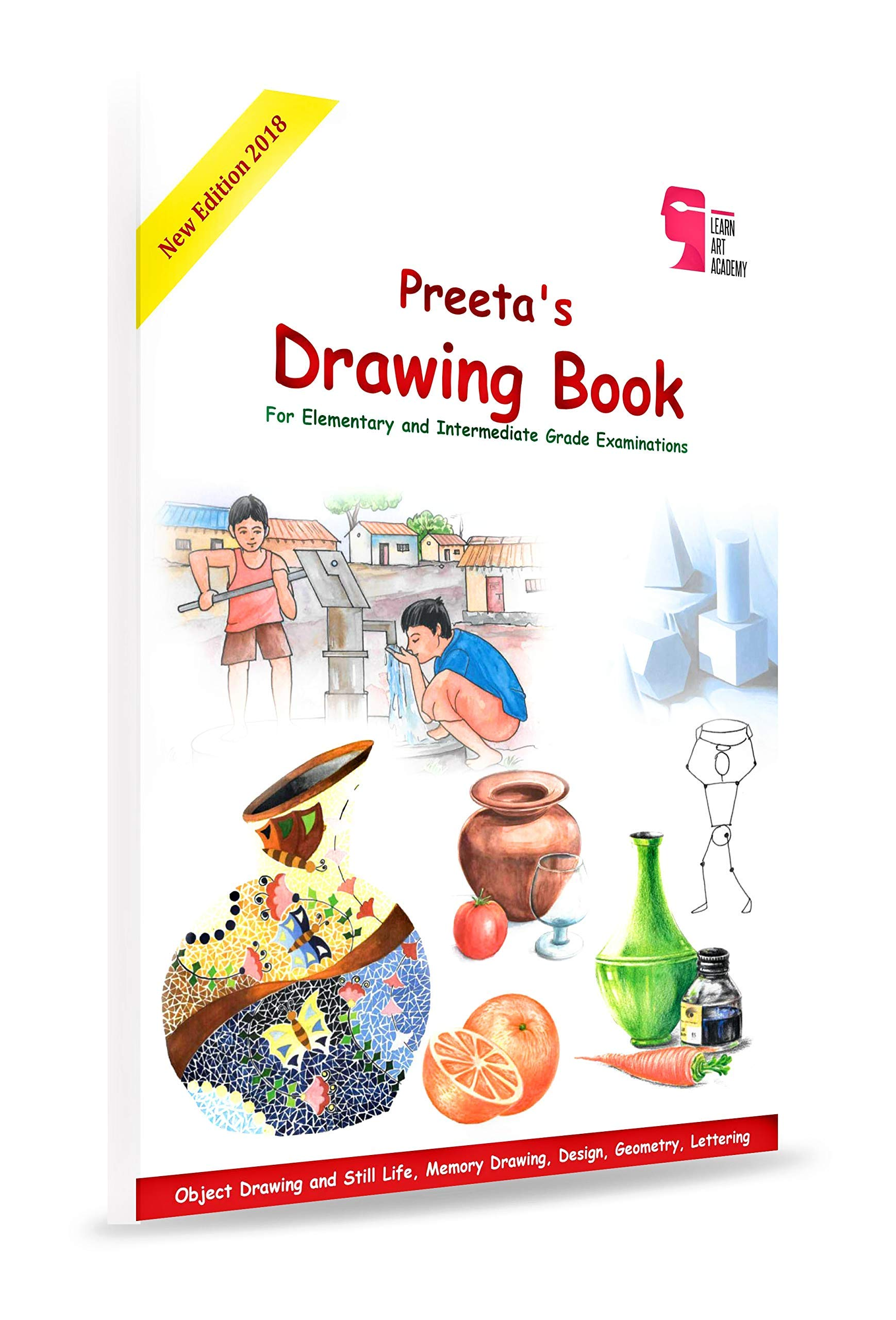 9abc3010 Buy Preeta's Drawing Book for Elementary and Intermediate Grade ...
