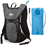 HydroGo a HYDRATION BACKPACK & 2L Water Hydration Bladder – the BTR hydration pack with a bladder bag is a waterproof running rucksack ideal for outdoor sports. It's a mountain bike backpack or a running backpack – DRINK and GO!