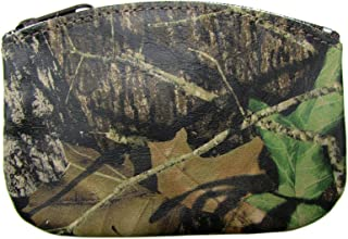 product image for Leather Camouflage Print Credit Card Pouch and Coin Holder, Camouflage