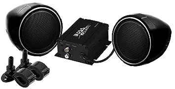 """BOSS Audio mcbk400 Boss Motocicleta/UTV, 3 """"Sistema de Altavoces y Amplificador"""