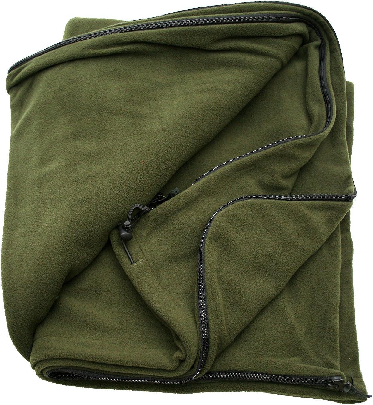 Hubertus Fleecedecke oder Ansitzsack zur Jagd zum Angeln oder in der Freizeit