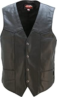 product image for Genuine Leather Club Vest