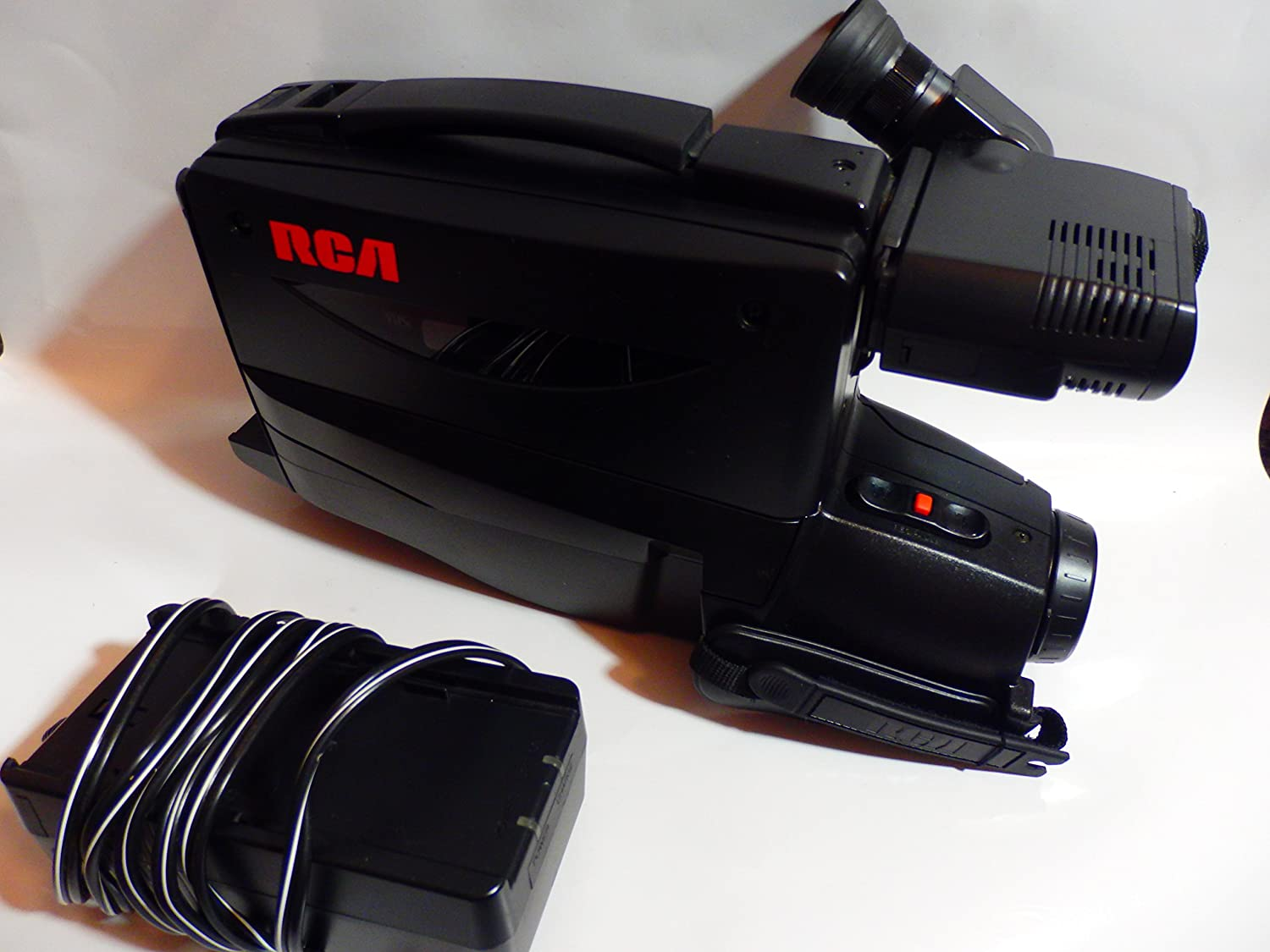 Amazon Com For Parts Untested Rca Dsp3 Camcorder Home Movie Vhs Video Recorder Electronics