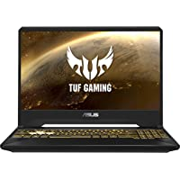 "ASUS TUF Gaming FX505DT 15.6"" FHD 120Hz Laptop GTX 1650 4GB Graphics (Ryzen 7-3750H/8GB RAM/1TB HDD + 256GB PCIe SSD/Windows 10/Gold Steel/2.20 Kg), FX505DT-AL033T"
