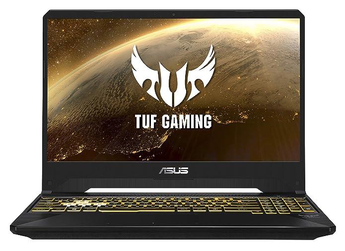 ASUS TUF Gaming (FX) Laptop 15.6, AMD Ryzen 7-3750H 2.3GHz, NVIDIA GeForce GTX 1660Ti GDDR6 6GB, 1TB HDD + 256GB PCIE SSD, 16GB DDR4 RAM, TUF505DU-EB74