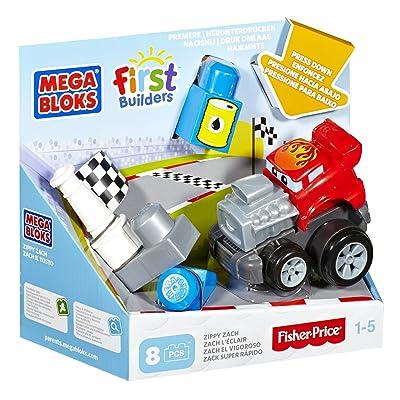 Mega Bloks First Builders Zippy Zach Building Kit: Toys & Games
