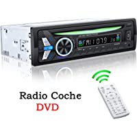 TOYOUSONIC Radio Coche CD 1 DIN Reproductor