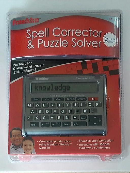 Merriam webster crossword