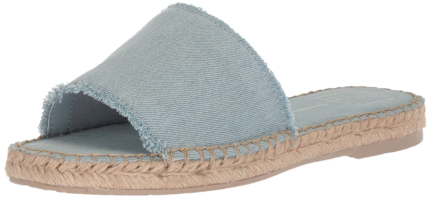 Dolce Vita Women's Bobbi Slide Sandal B077QJ3R8X 8 B(M) US|Lt Blue Denim