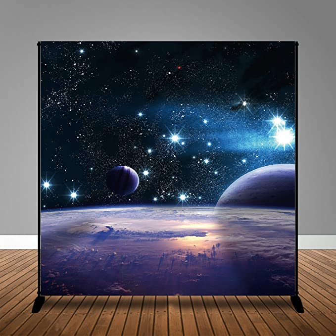 Pattern Photography Background Cloth Box Christmas Series The Sky Shining Stars