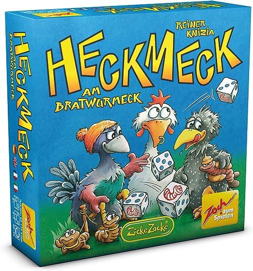 Zoch 601125200 - Heckmeck Am Bratwurmeck, Juego de fichas y Dados (de 2 a 7 Jugadores): Amazon.es: Juguetes y juegos