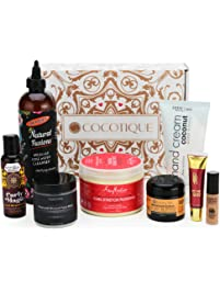 COCOTIQUE - Full Size & Deluxe Travel Size Beauty Products Subscription Box for Women of Color