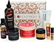 COCOTIQUE - Full Size & Deluxe Travel Size Beauty Products Subscription Box for Women of C