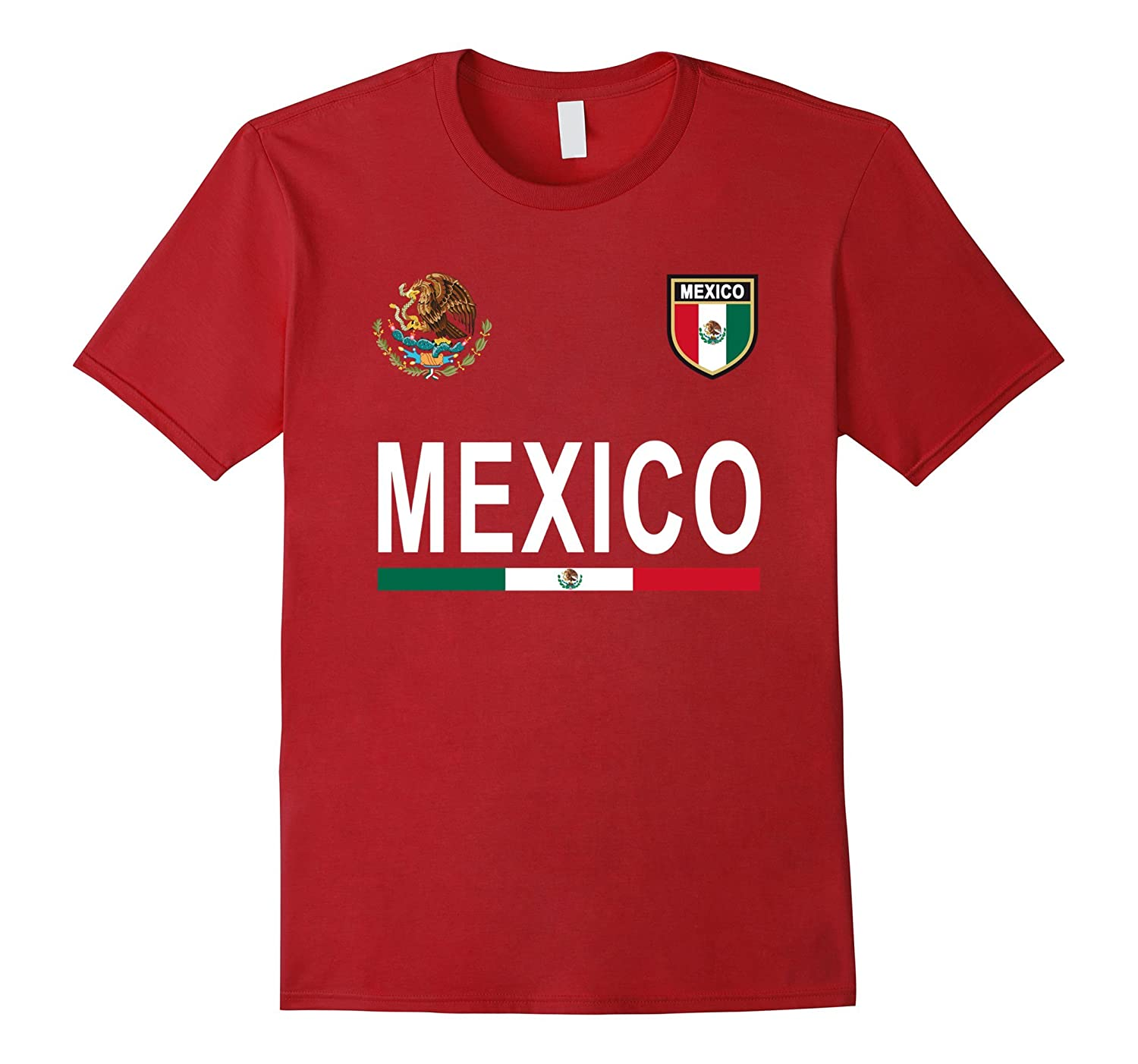 Mexico Retro T-Shirt – Mexican Football Jersey 2017-PL – Polozatee 49b7d2d6c