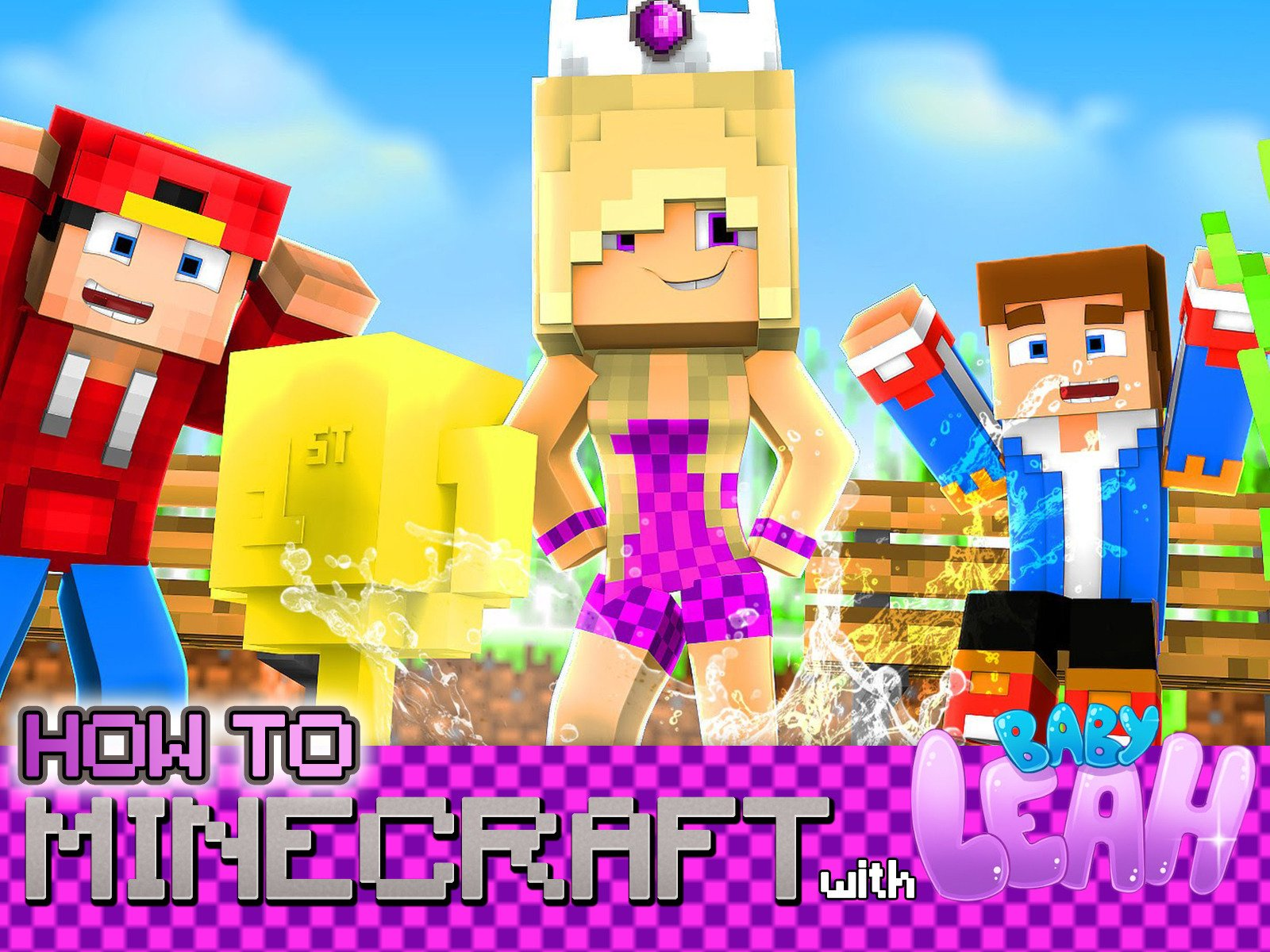 How to Minecraft with Little Leah on Amazon Prime Video UK