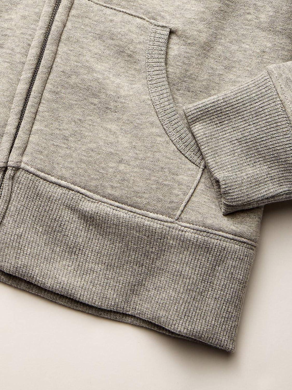 Spotted Zebra Unisex Kinder Sherpa-Lined Fleece Zip-up Hoodies