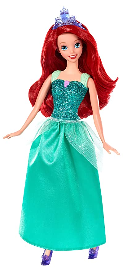 Amazon disney princess sparkling princess ariel doll toys games disney princess sparkling princess ariel doll altavistaventures Image collections