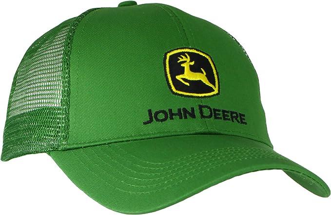 John Deere Mens Logo Mesh Back Core Baseball Cap: Amazon.es: Ropa ...