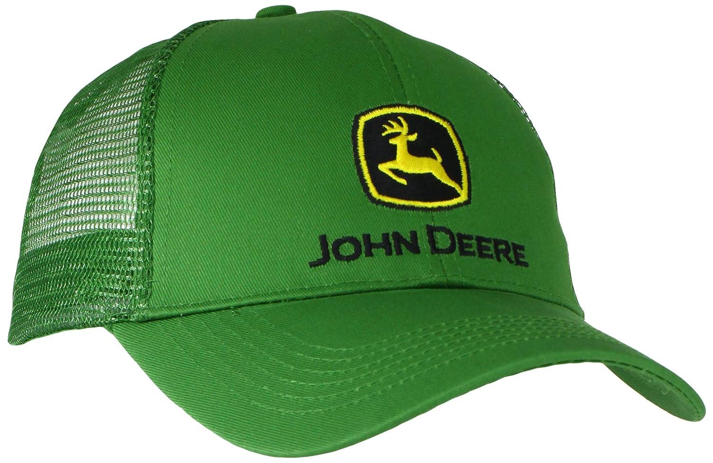 John Deere Men's Logo Mesh Back Core Baseball Cap