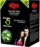 Siso hair color shampoo - 15ml (Pack of 20)
