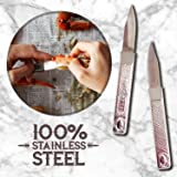 Premium Quality Crab Knife Stainless Steel 6 inches - Perfect for Crab Picking