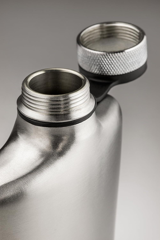 GSI Outdoors Glacier Stainless Hip Flask Flask Flask 8 oz Flachmann, Unisex Erwachsene, Silber, 8 oz B00UTKKGOQ | Hervorragende Eigenschaften  d0947c