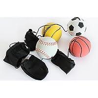 4er Set Springball Armband & Schnur Fußball Basketball Tennis Baseball (9800010)