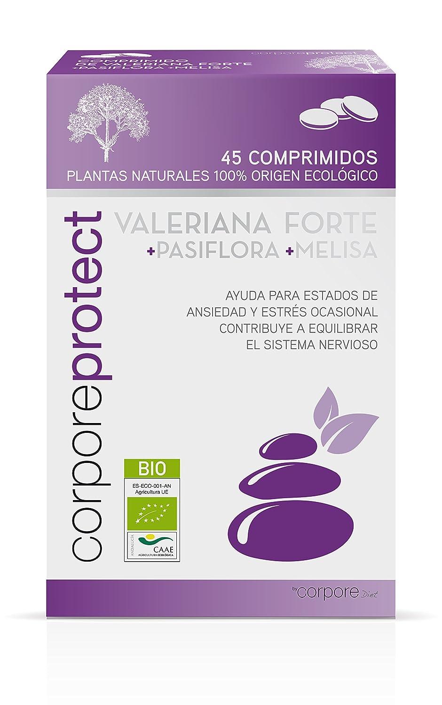 Corpore Protect Valeriana Forte - 45 Unidades: Amazon.es: Salud y cuidado personal