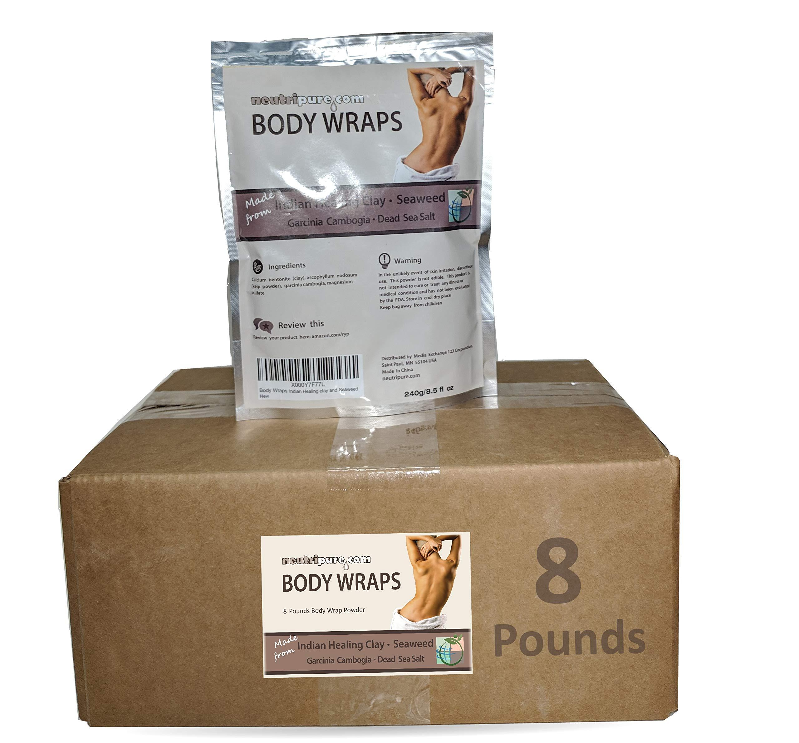 Neutripure SPA Formula Body Wrap Bulk 8 Pounds: Seaweed, Healing Clay, Garcinia Cambogia, and Dead Sea Salt