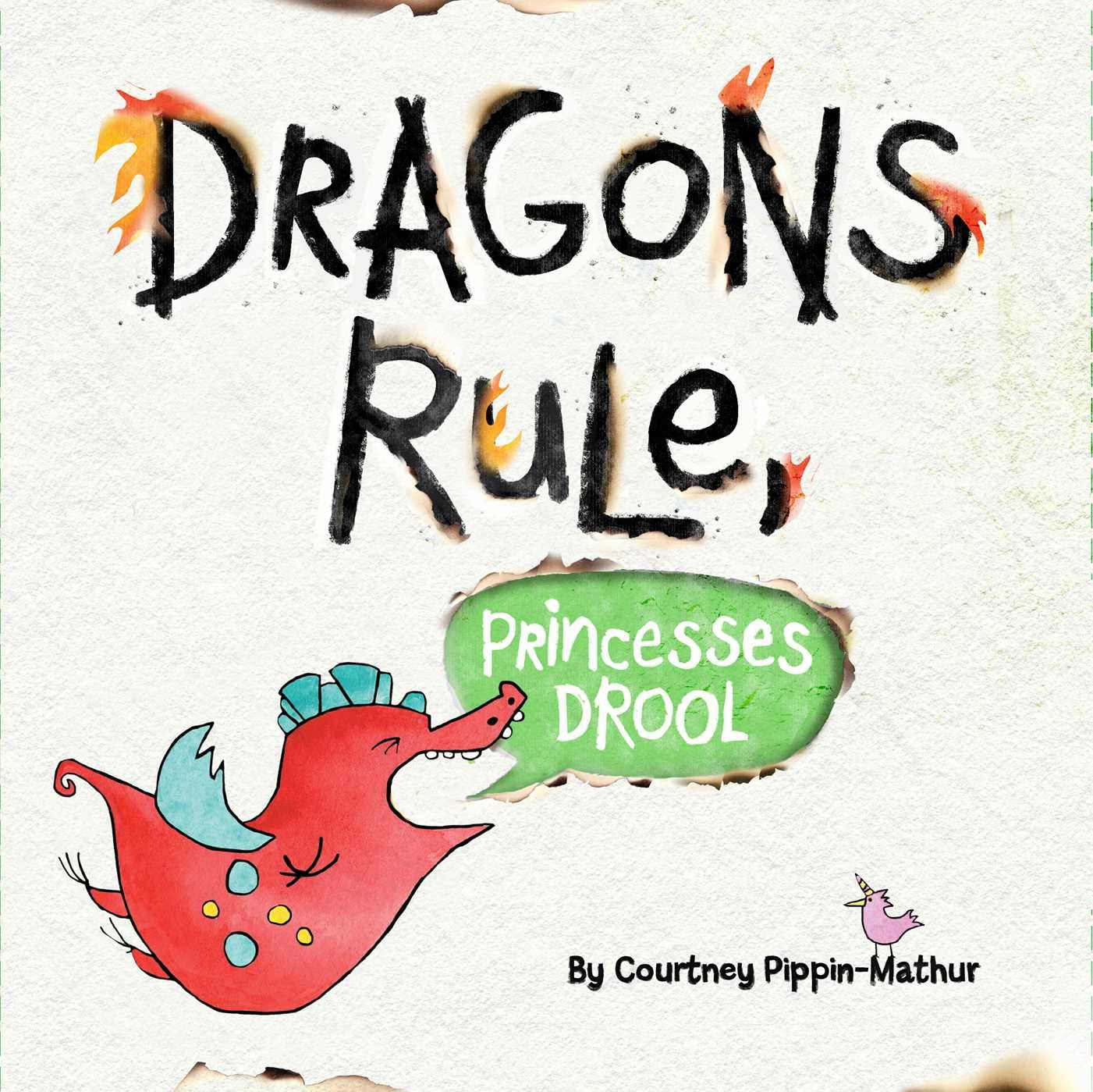 Dragons Princesses Drool Courtney Pippin Mathur product image