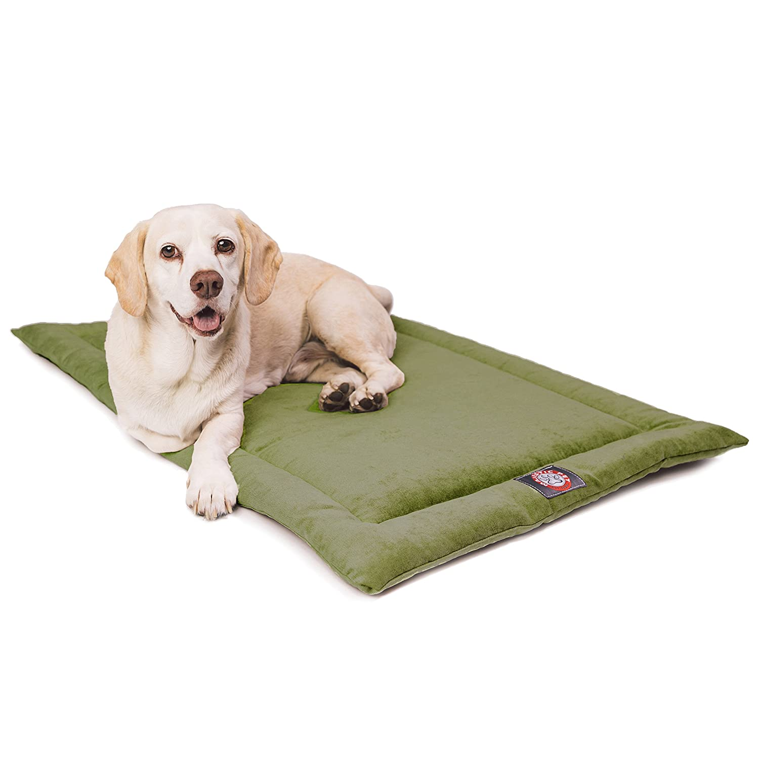 Fern 48-Inch Fern 48-Inch 48  Villa Fern Crate Dog Bed Mat by Majestic Pet Products