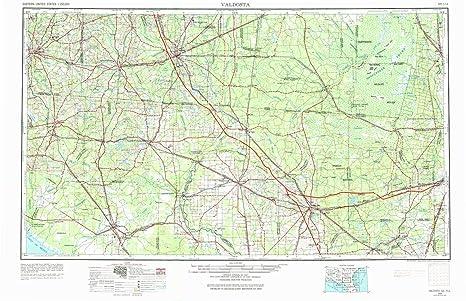 Amazon Com Valdosta Ga Topo Map 1 250000 Scale 1 X 2 Degree