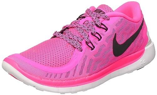 the best attitude 4c78e 2381a Nike Free 5.0 (GS), Zapatillas de Running para Niñas  Amazon.es  Zapatos y  complementos
