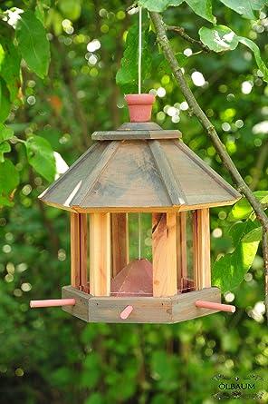 Casa de pájaros, forro de casa Comedero, con/sin iluminación Jardín Nido, casas pájaros Pajarera, Pajarera Comedero + Casa de pájaros: Amazon.es: Iluminación