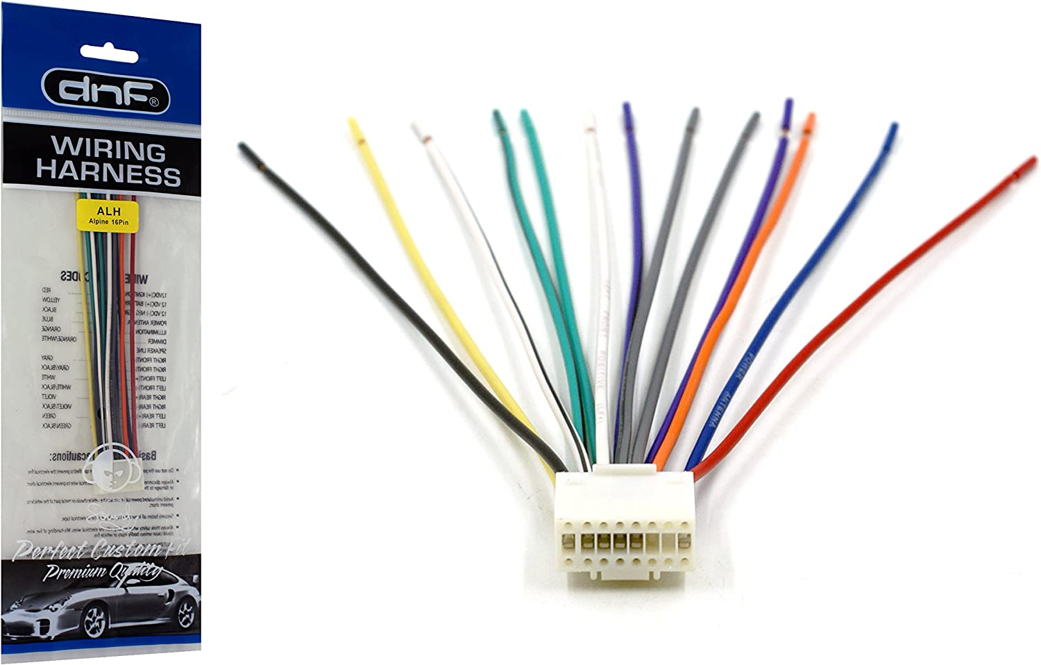 [SCHEMATICS_4US]  Amazon.com: DNF Alpine Wiring Harness TDM-7545 TDM-7555 TDM-7574  TDM-7580-100% Copper Wires!: Automotive | Alpine Wire Harness |  | Amazon.com